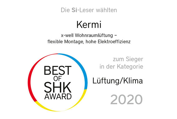 Best-of-SHK Award 2020 für x-well