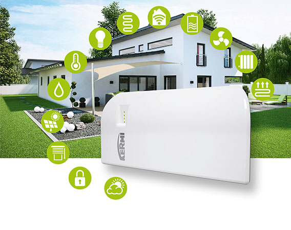 Kermi Smart Home mit x-center base